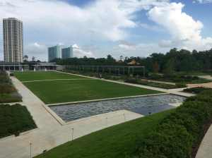 North End of Hermann Park Facing Southeast