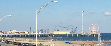 Pleasure Pier at Galveston