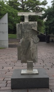 Statue in Outdoor Sculpture Park--Houston Museum of Fine Arts