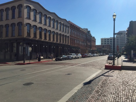 The Historic Strand District, Galveston