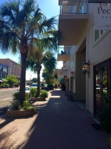Post Office Street in Downtown Galveston, Near the Strand