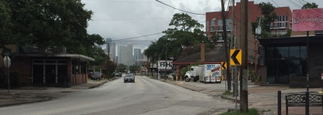 Westheimer Rd. in Montrose Facing East