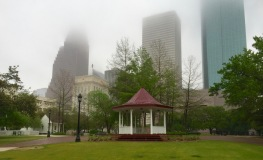 Gazebo at Sam Houston Park-Downtown