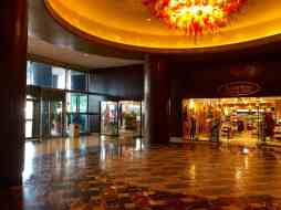Inside of the Hilton Americas East Entrance
