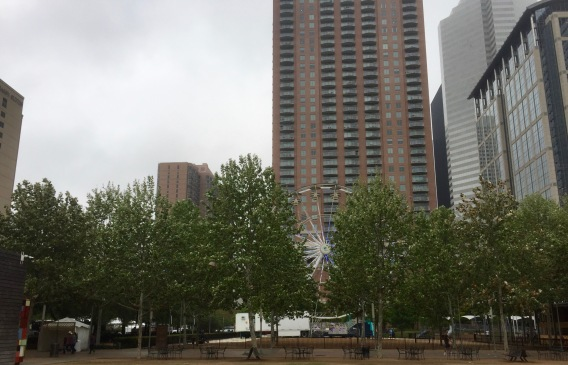 Discovery Green Facing Northwest